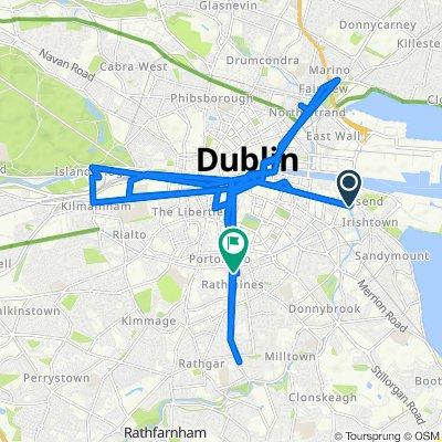 De Fitzwilliam Quay 8, Dublin a Rathmines Road Lower 34