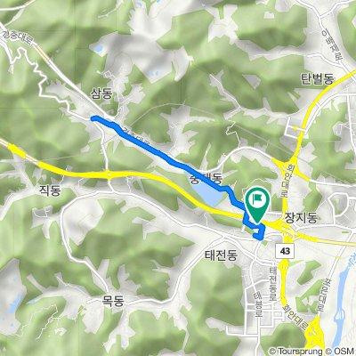 Jungdae-dong 15-29, Gwangju-si to Gwangnam-dong 15-28, Gwangju-si