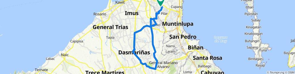 Rose of Heaven Drive 15a, Las Pinas to Tidy Tips Street 18, Las Pinas