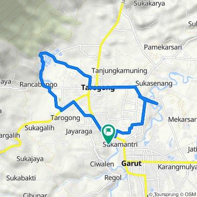 Jayawaras, South Tarogong to Jayawaras, South Tarogong