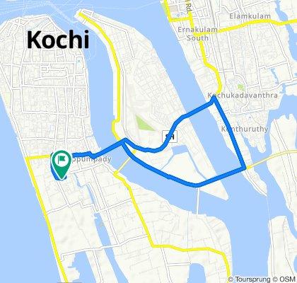 Chitra, Kochi to 7D, Kochi
