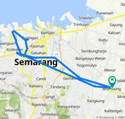 Jalan Bandung Utara, Kecamatan Mranggen to Jalan Bandung Utara, Kecamatan Mranggen