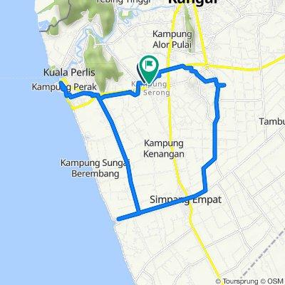 Lebuhraya Changlun - Kuala Perlis 118, Kangar to Lebuhraya Changlun - Kuala Perlis 118, Kangar