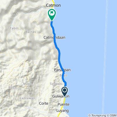 Cebu North Road, Carmen to Cebu North Road, Catmon