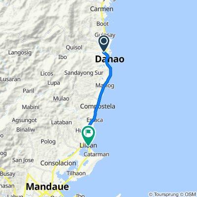 Route to Cebu North Road, Lilo-An