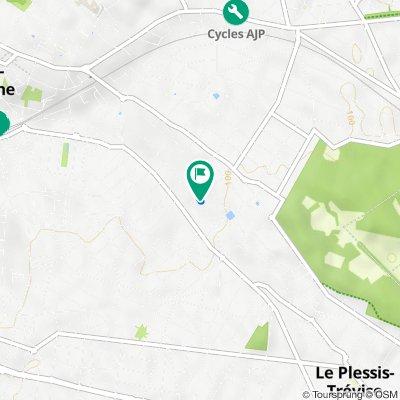 De 6 Avenue de la Dame Blanche, Le Plessis-Trévise à 21 Avenue des Huguenots, Le Plessis-Trévise