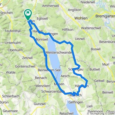 Hallwilersee/Bettwil/Müswangen/Beinwil/Leutwil