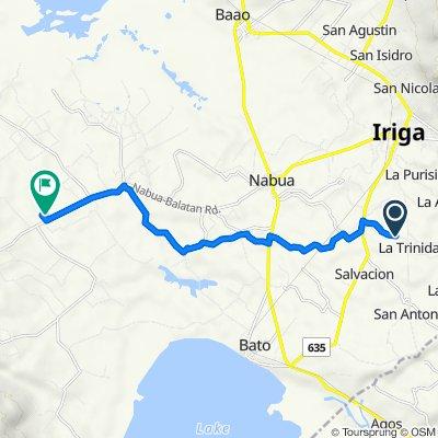 Unnamed Road, City of Iriga to Nabua - Balatan Road 442