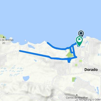 Route to R21–R99 Calle Marína, Dorado