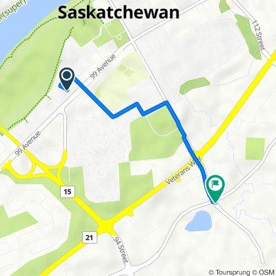 230 Bridgeview Dr, Fort Saskatchewan to 101 St, Fort Saskatchewan
