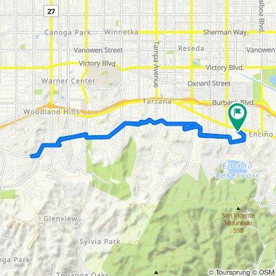 17429 Tarzana St, Los Angeles to 17429 Tarzana St, Los Angeles