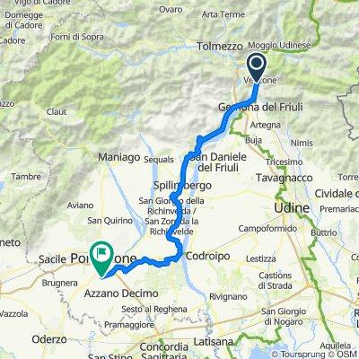 Venzone-Corva 90km