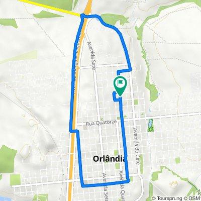 De Avenida Três, 1522–1636, Orlândia a Avenida Três, 1522–1636, Orlândia