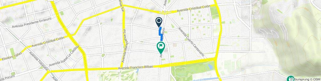 De Río de la Plata 1235, Las Condes a Avenida Tomás Moro 1806, Las Condes