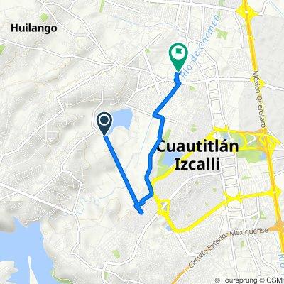 De Avenida Francisco I Madero 6-46, Cuautitlán Izcalli a Citlaltepec 5, Mexico City