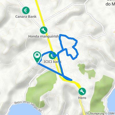 Unnamed Road, Sangolda to Porvorim, Pilerne