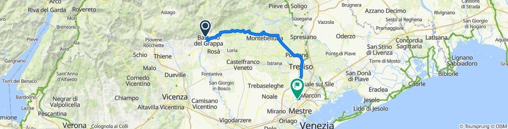 Bassano del Grappa - Moglino Veneto