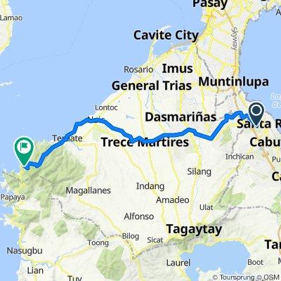 , Biñan to Kaybiang Tunnel, Maragondon