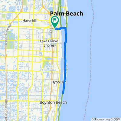 864–868 Southern Blvd, West Palm Beach to 864–868 Southern Blvd, West Palm Beach