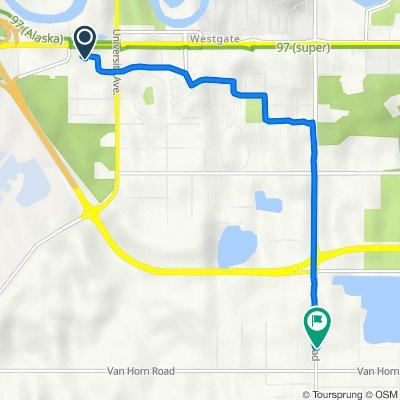 3755 Airport Way, Fairbanks to 3401 Peger Rd, Fairbanks