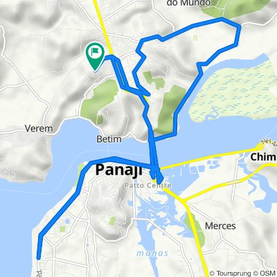 Unnamed Road, Sangolda to Unnamed Road, Sangolda