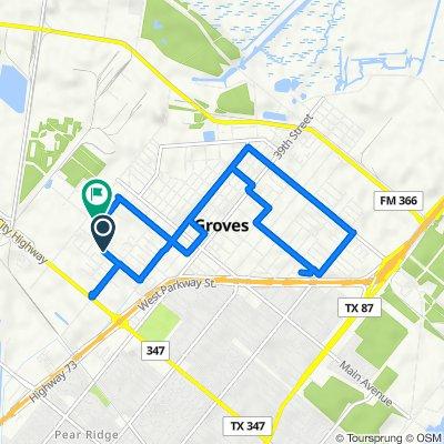 Lawndale Avenue 5048, Groves to Lana Lane 5411, Groves