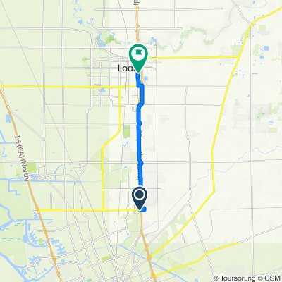 Hammer Lane 4426, Stockton to South Cherokee Lane 710, Lodi