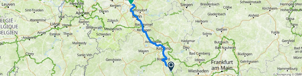 Radtour durch Deutschland Teil 35