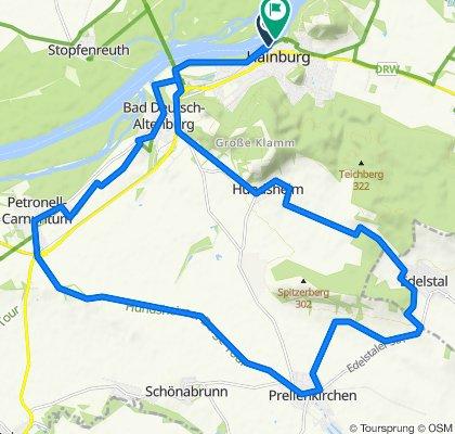 Hainburg - Prellenkirchen - Hainburg