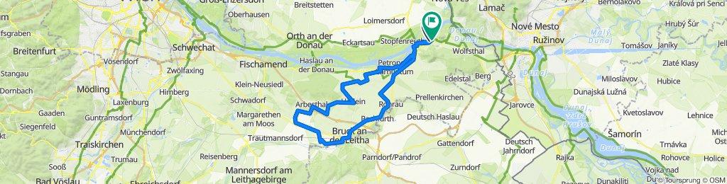 Hainburg - Bruck a.d. Leitha - Hainburg