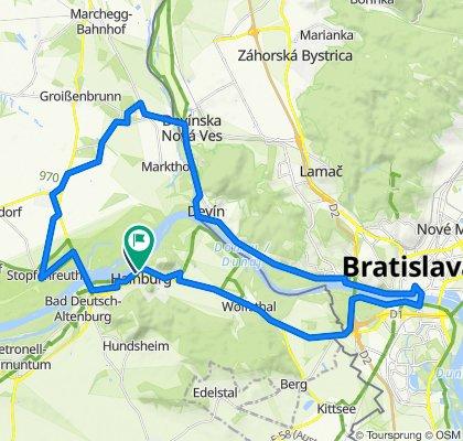 Hainburg - Schloss Hof - Bratislava - Hainburg