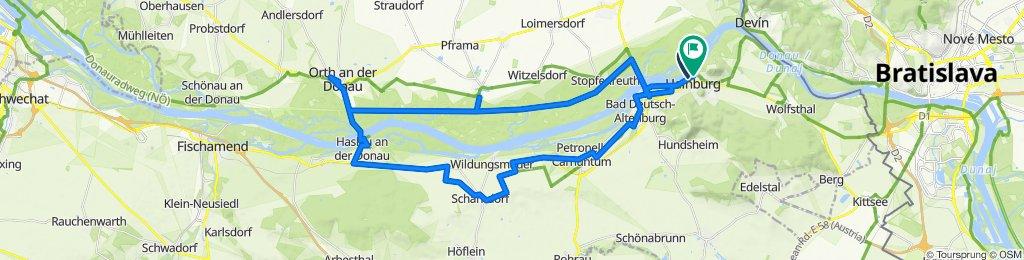 Hainburg - Orth a.d. Donau - Hainburg