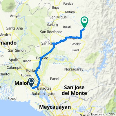 Bangkal-Matimbo Farm-to-Market Road, Malolos to Verdivia Trail, Doña Remedios Trinidad