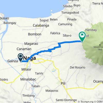 Moderate route in Lungsod ng Naga