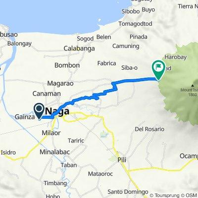 Slow ride in Lungsod ng Naga