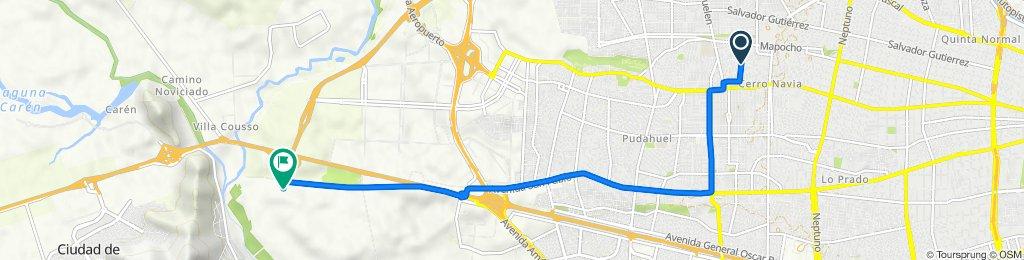 De Milán 1488, Cerro Navia a Ruta 68 KM 10, Pudahuel