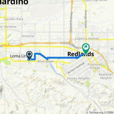 25350–25482 Barton Rd, Loma Linda to 30 Cajon St, Redlands