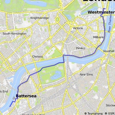 Wandsworth to Whitehall