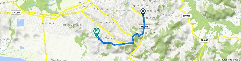 De Avenida Prefeito Francisco Ribeiro Nogueira 3977 a Rua Gago Coutinho 101
