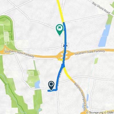 От 19 Peacock Ln, Норт-Бабилон до 1188 Deer Park Ave, Норт-Бабилон