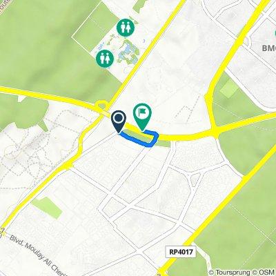 Itinéraire vers Rocade de Rabat, Rabat