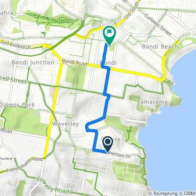 131 Macpherson Street, Bronte to 6-8 Ocean Street N, Bondi