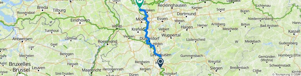 Radtour durch Deutschland Teil 36