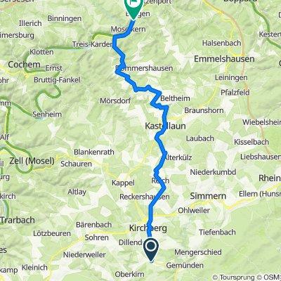 Mühlenweg 7, Dickenschied nach Campingplatz Laguna 1, Burgen