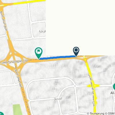 Sheikh Zayed Bin Soltan Al Nahyan Road, Al Kuwayt to Sheikh Zayed Bin Soltan Al Nahyan Road, Al Kuwayt