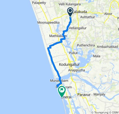 Unnamed Road to Cherai Beach - Munambam Road, Kuzhuppilly