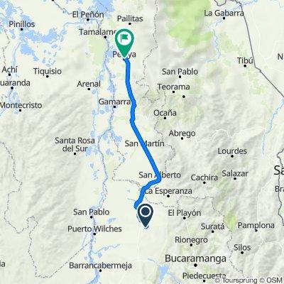 Ruta 4 - Sabana de Torres a Pelaya