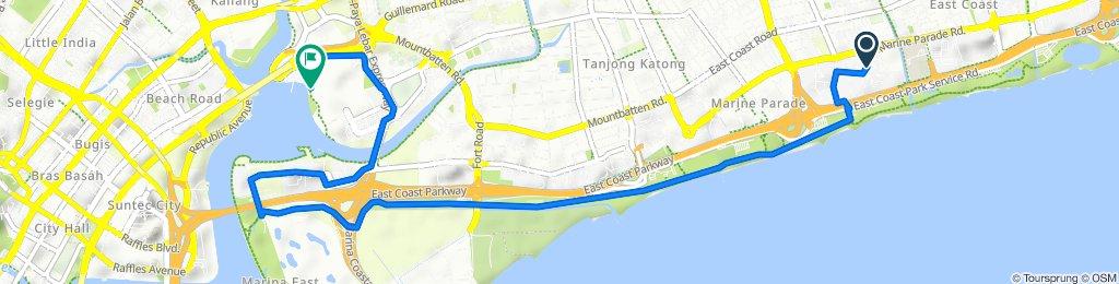 Marine Terrace to Kallang Wave Mall