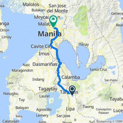 Santo Tomas - Lipa Road 130 to Tolentino 113, Quezon City