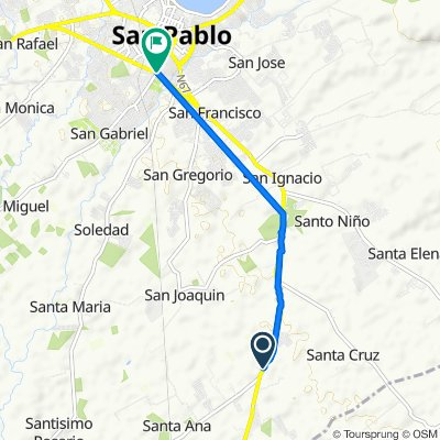 Steady ride in San Pablo City
